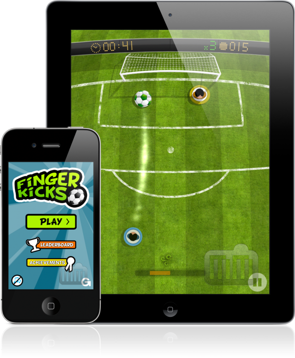 FingerKicks - iPad e iPhone
