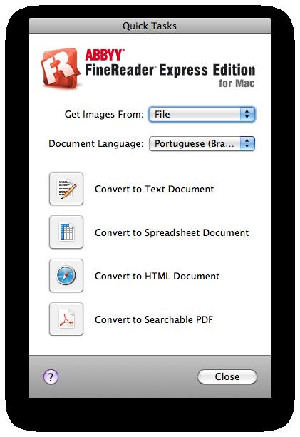 ABBYY FineReader Express para Mac