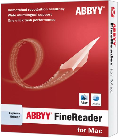 Caixa - ABBYY FineReader Express para Mac