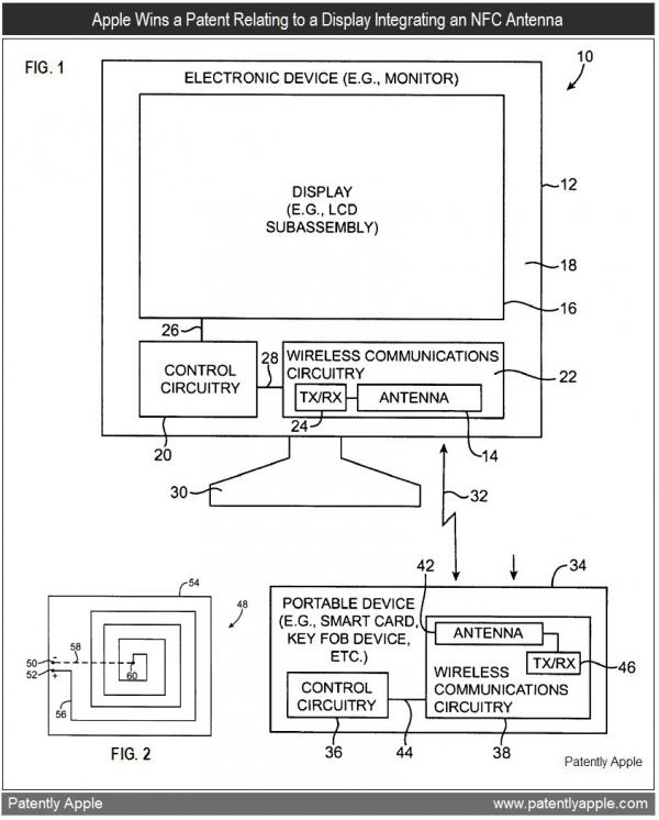 Patente de iMac com NFC