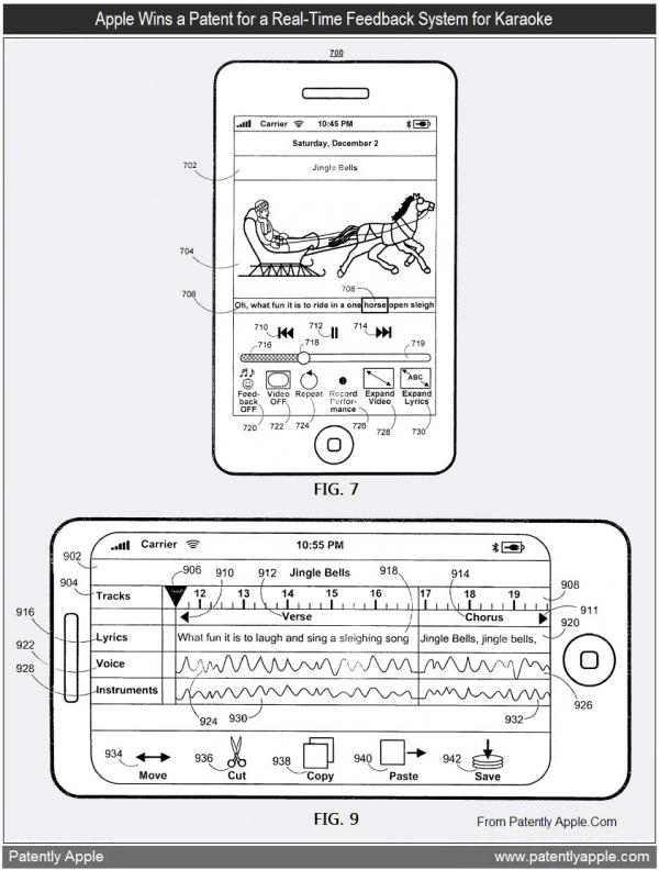 Patente de sistema de karaokê