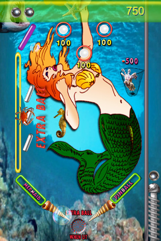Mermaid Pinball