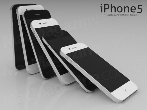 Conceito/mockup de iPhone 4S/5