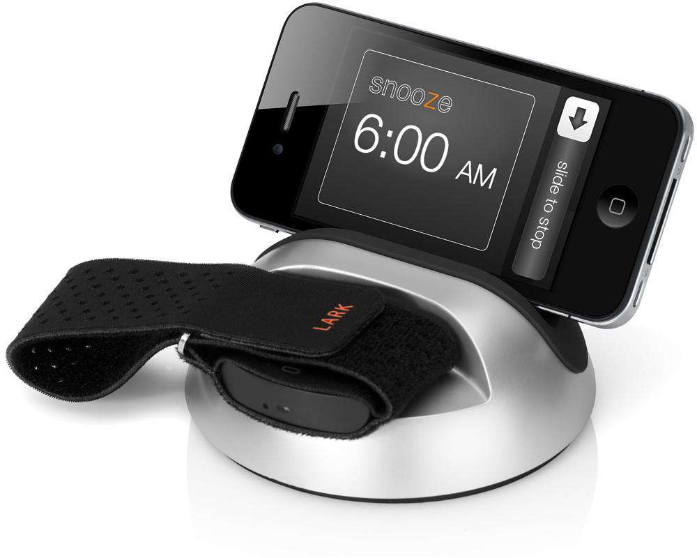 LARK Un-Alarm Clock and Sleep Sensor
