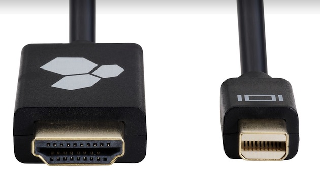 Cabo HDMI-Mini DisplayPort