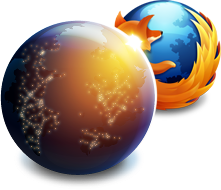 Ícones - Firefox normal e Aurora