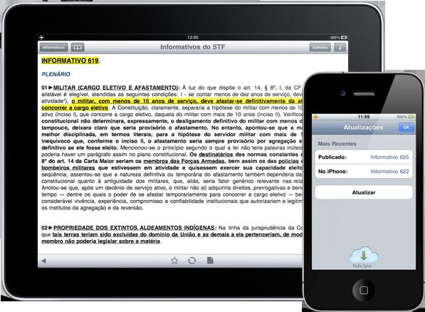 Informativos do STF - iPad e iPhone