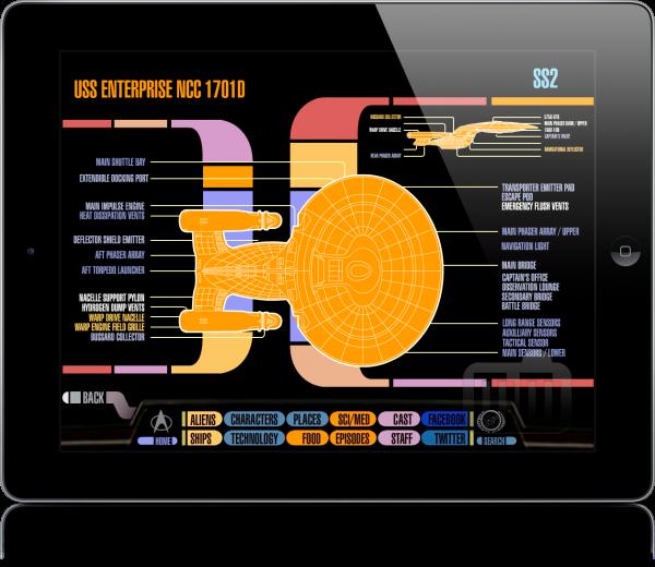 Star Trek PADD no iPad
