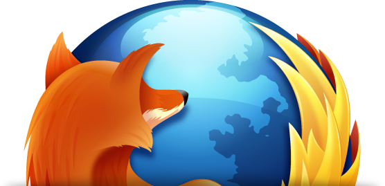 Ícone do Firefox cortado