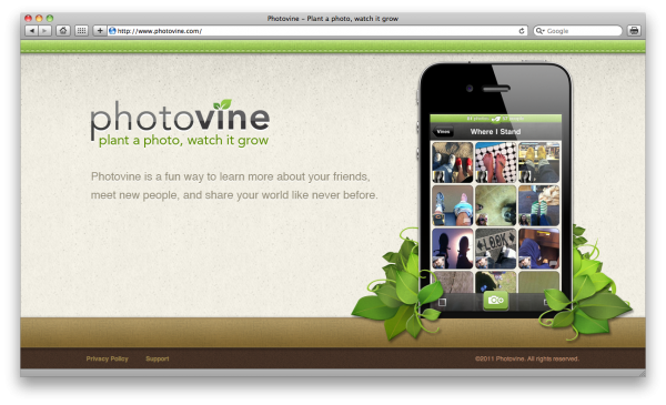 Photovine no Safari