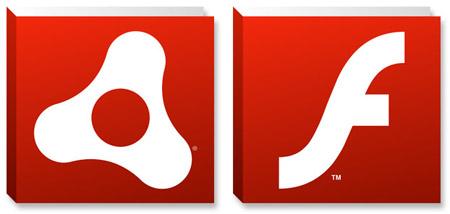 Ícones - Adobe AIR e Flash Player
