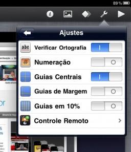 Configurando o Keynote Remote no iPad