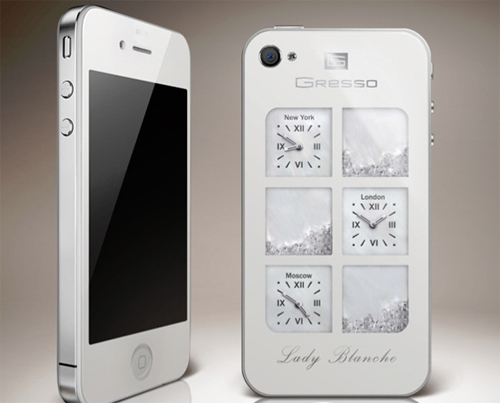 iPhone Lady Blanche - Gresso
