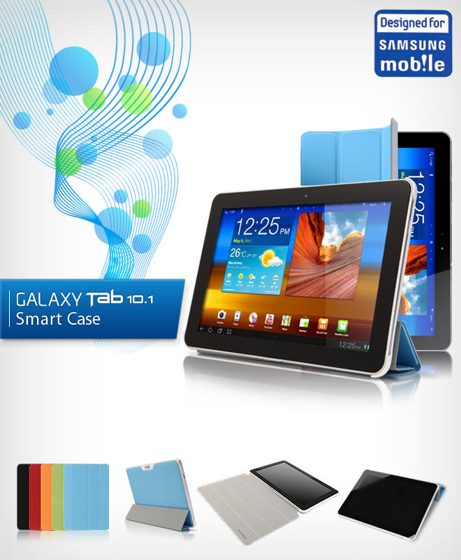 Smart Cover chupada pela Anymode - Samsung Galaxy Tab