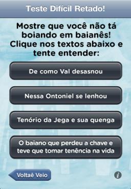 Baianês - iPhone
