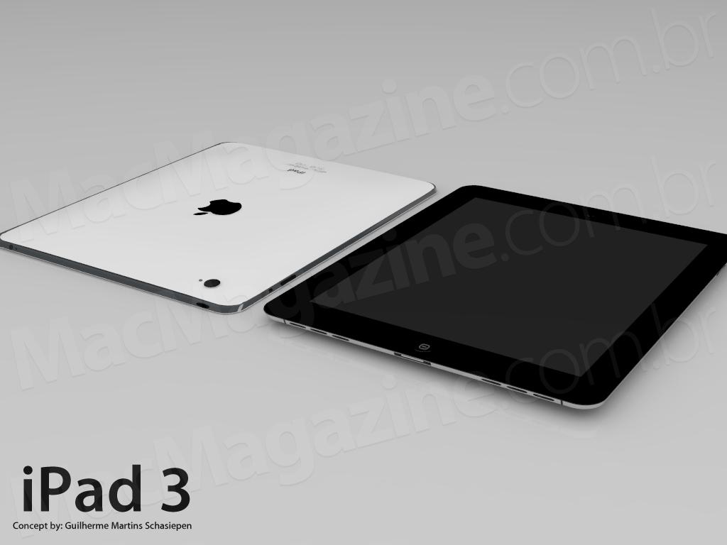 Mockup do iPad 3