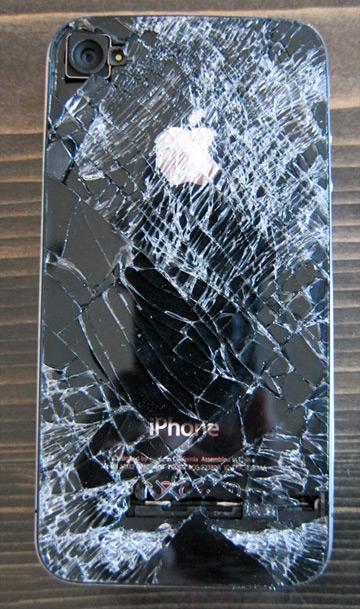 iPhone de paraquedista