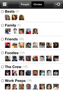 Google+ (Google Plus) - iPhone