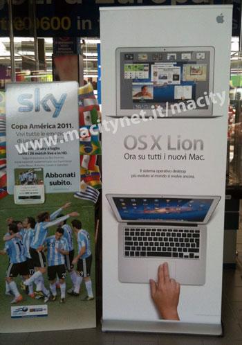 Banner do Lion em loja