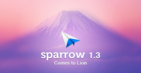Sparrow 1.3