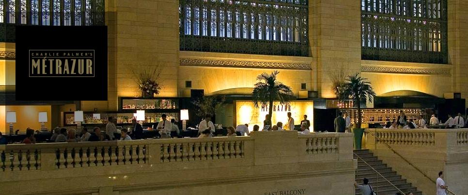 Restaurante Metrazur, no Grand Central Terminal
