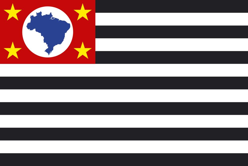 Bandeira do Estado de São Paulo - Felipe Macaroni Lalli
