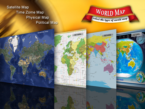 World Atlas for iPad