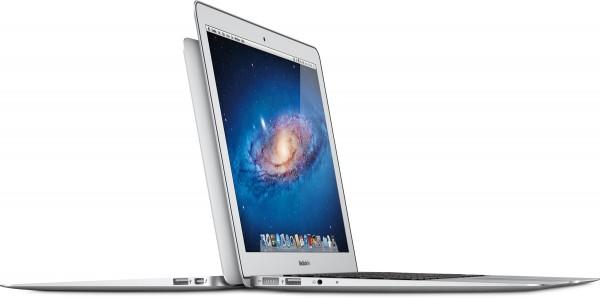 Novos MacBooks Air de lado