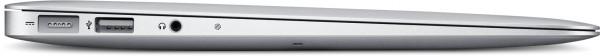 MacBook Air fechado, de lado