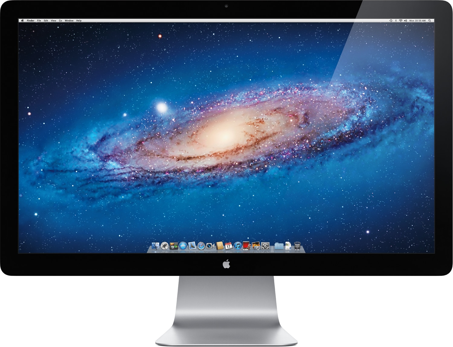 Thunderbolt Display de frente