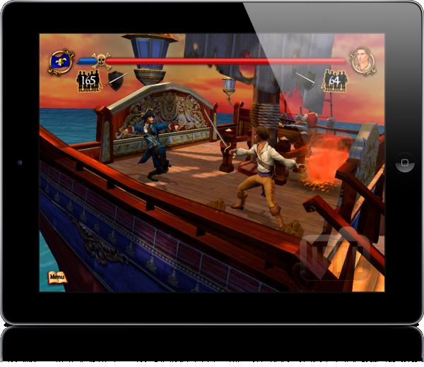 Sid Meier's Pirates! no iPad