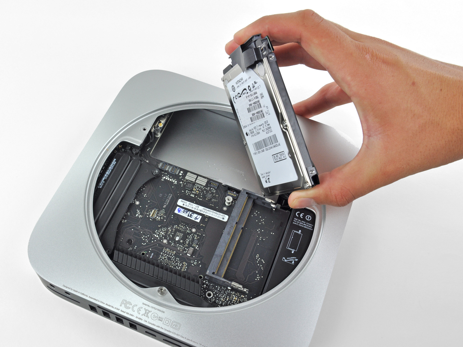 Teardown do Mac mini na iFixit