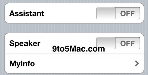 Assistant - iOS 5