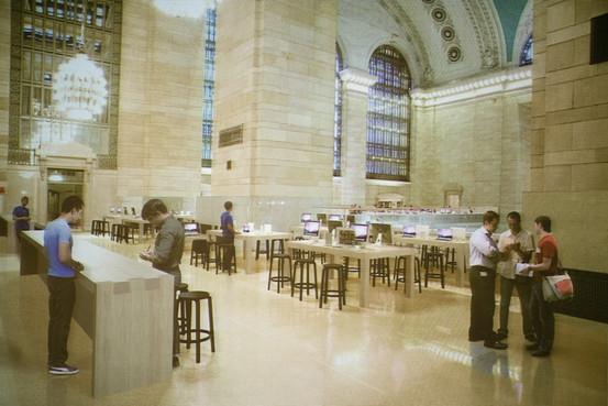 Conceito de Apple Retail Store no Grand Central Terminal - Wall Street Journal