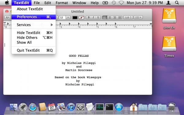 Desktop do OS X Lion em modo 720x450 HiDPI - Ars Technica