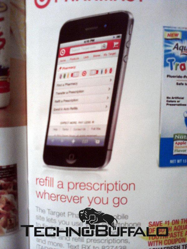 iPhone 5 em anúncio da Target?