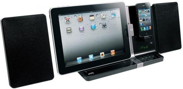 JVC UX-VJ3 para iPad e iPhone/iPod