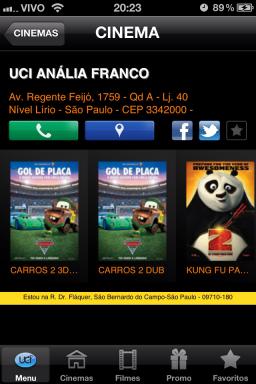 UCI Cinemas - iPhone