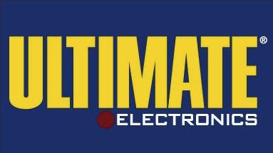 Logo da falida Ultimate Electronics