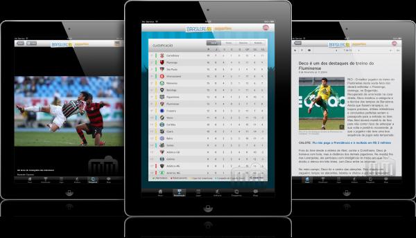 Esportes O Globo Brasileirão 2011 - iPads
