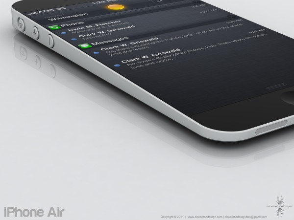 Mockup de iPhone Air