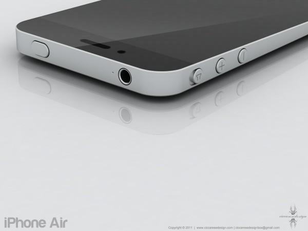 Mockup de iPhone Air