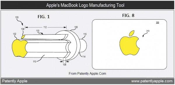 Patente de ferramenta para cortar logos da maçã