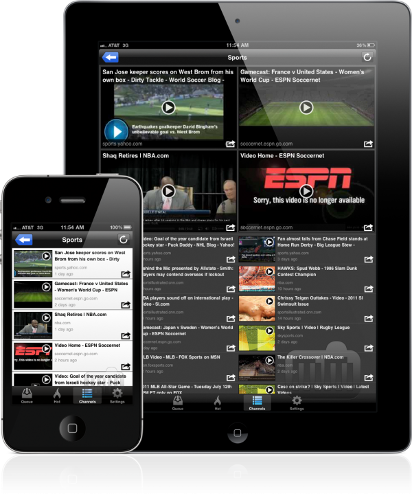 VideoQ - iPad e iPhone