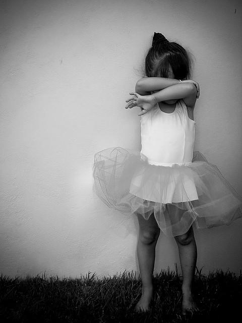 Menina tímida - Tainara