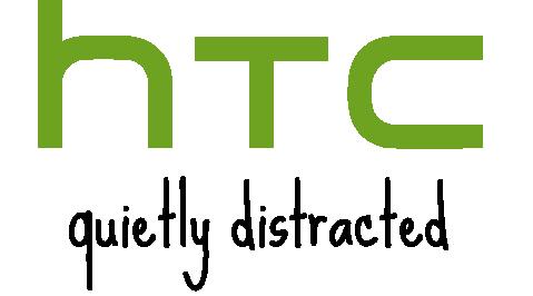 Logo da HTC distracted
