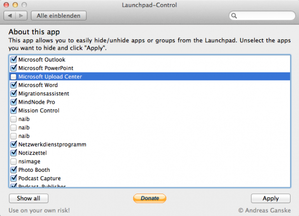 Launchpad-Control novo