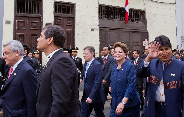Dilma no Peru