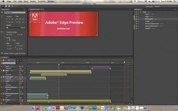 Adobe Edge - Preview 1