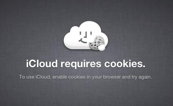 Cookies no iCloud.com